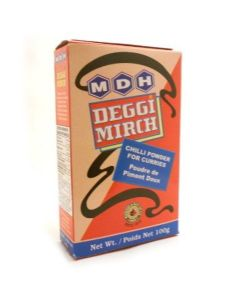 MDH Deggi Mirch [Chilli Powder for Curries]| Buy Online at The Asian Cookshop.